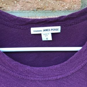 James Perse Tops - Maroon James Perse t shirt